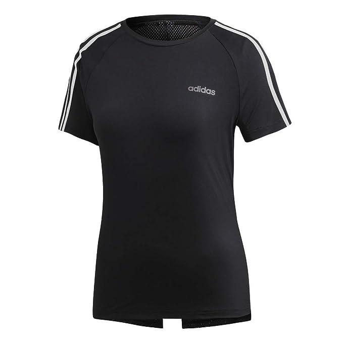 ee74cca93e9b3 adidas Women's Designed 2 Move 3-Stripes Training Tee