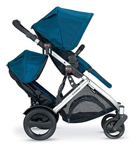 Blue Britax Stroller - 4