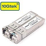 10Gtek for Arista 10GBASE-LR BIDI, a Pair of 10GBASE SFP+ Bidi Transceivers, 10-20KM