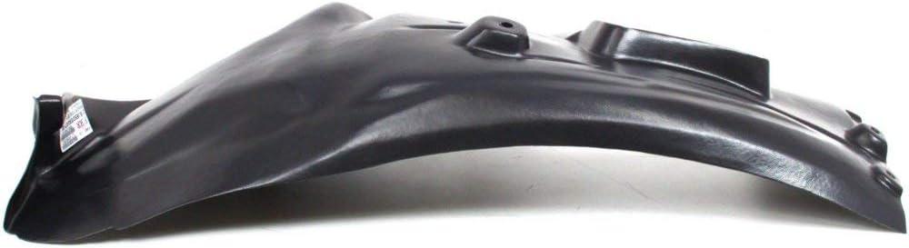 Splash Shield Front Left and Right Side Fender Liner Set of 2 Plastic Rear Section for 3-SERIES 07-13
