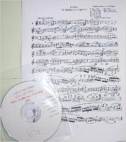 100's Violin Studies & Teaching Methods Sheet Music on CD