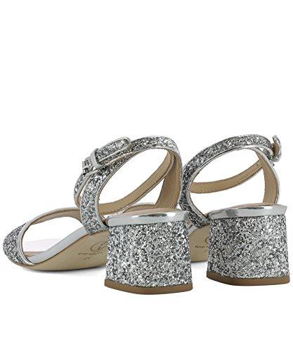 Ash Sandals Women's REMIX02GLITTERSILVER Silver Glitter BnBrgRq6
