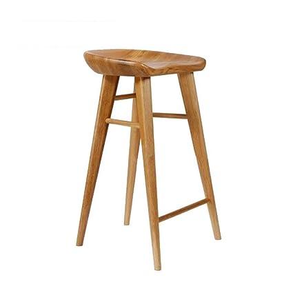 Amazon Com Qidi Bar Stool Wooden Frame Counter Chairs Anti
