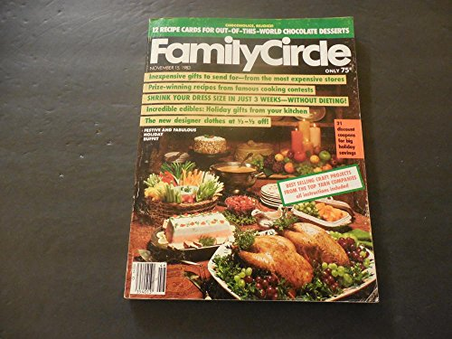 Family Circle Nov 15 1983 Festive And Fabulous Holiday Buffet