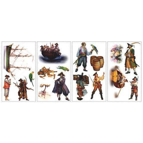 York-Wallcoverings-RMK1041SCS-RoomMates-Pirates-Peel-Stick-Wall-Decals