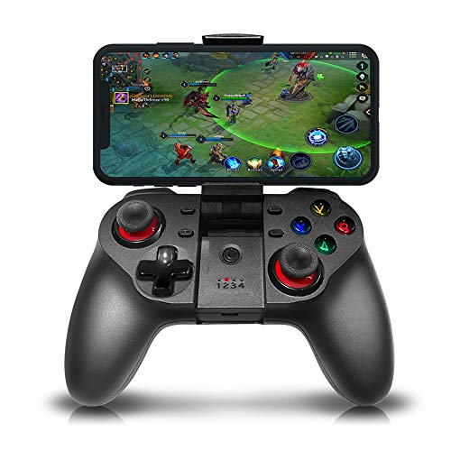 CHENGDAO Mobile Smartphone Gaming Controller Wireless Compatible iPhone,iPad,iOS,Android,Tablet - V018 (Best Cheap Gaming Phone)