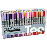 Copic Premium Artist Markers - 72 color Set A - Intermediate Level