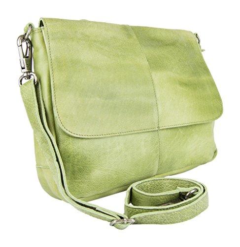 Latico Charlton Shoulder Bag, Grass, One Size (Grass Purse)