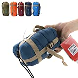 Sleeping Bag ¨C Envelope Lightweight Portable, Waterproof, Comfort With Compression Sack - Great For 4 Season Traveling, Camping, Hiking, & Outdoor Activities. (SINGLE)