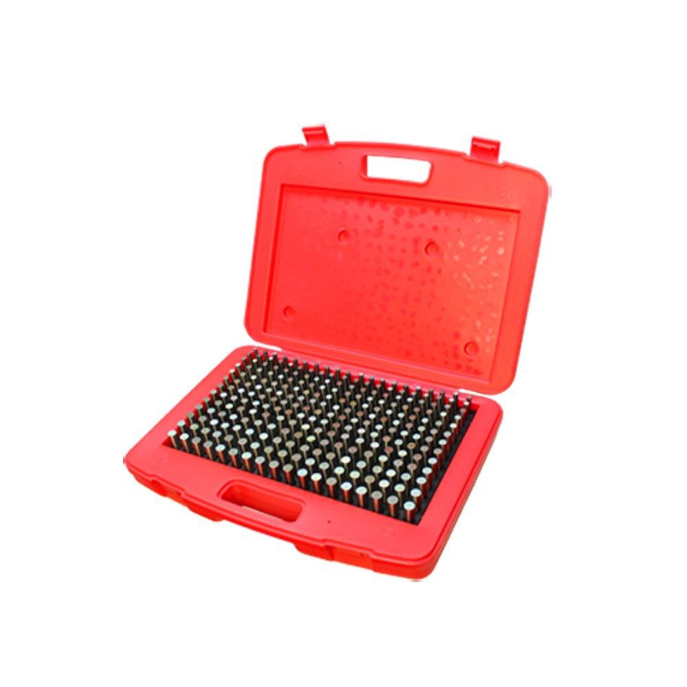 250 Pc M2 .251-0.500'' Steel Plug Pin Gage Set Minus Pin Gauges Metal Gage