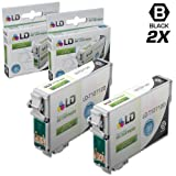 LD Remanufactured Ink Cartridge Replacement for Epson T127120 (Black, 2-Pack)