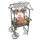 Cheap Design Toscano Jardin a la Francaise Flower Pushcart