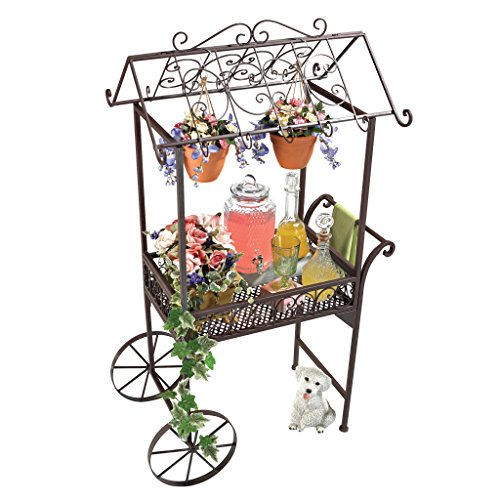 Design Toscano Jardin a la Francaise Flower Pushcart by Design Toscano