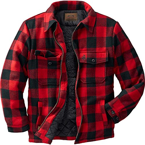 Legendary Whitetails The Outdoorsman Buffalo Jacket Plaid XX-Large Wool Hunting Clothes