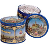 One Wicklein Gold Elisen Burg Tin, 2 Asst Lebkuchen (Chocolate & Iced), Min. 25% Nuts