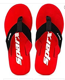 11ce38ace Sparx Men s Red Flip-Flops and House Slippers - 9 UK India (43