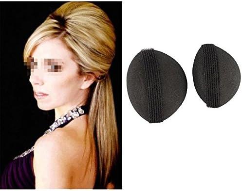2 Stück Damen Schaumstoff Kissen Haarklammer Haarkissen Haar Volumen Hochsteckfrisur Haar Styling