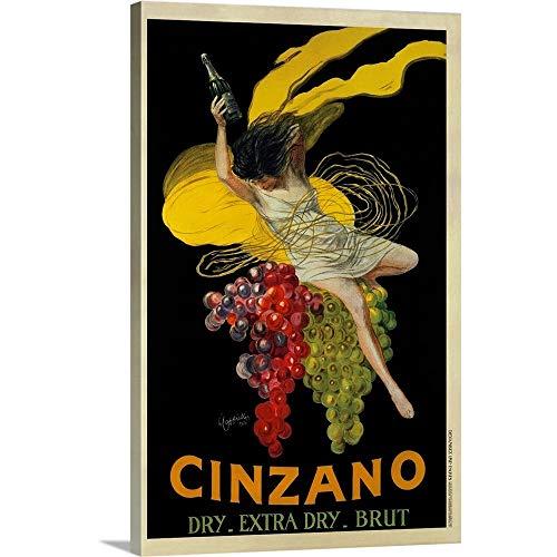 (GREATBIGCANVAS Gallery-Wrapped Canvas Entitled Cinzano, 1920 by Leonetto Cappiello 10