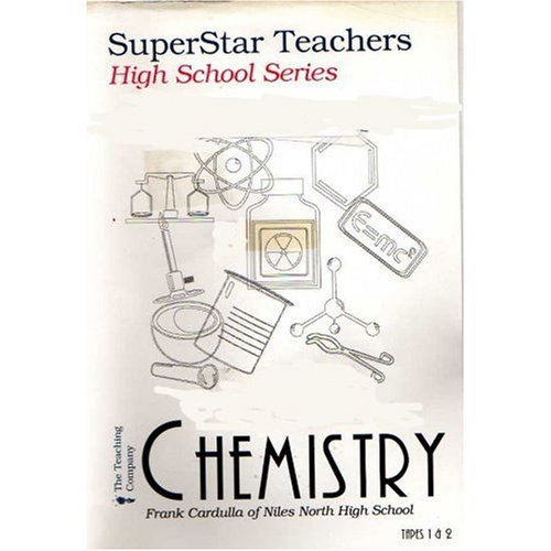 Superstar Teachers - High School Series - Chemistry with Frank Cardulla of Niles North High School - Two VHS Videotapes and One Booklet - Tape 1: Introduction and Philosophy, Quantitative Reasoning in Life and Chemistry, Density, The SI System of Measurement, Converting Between Systems of Measurement, The Mole Concept - Tape 2: The Mole, Solving Mole Problems, Avogardo's Hypothesis and Molar Volume, Percent Composition and Empirical Formulas, Solving Empirical Formula Problems, Writing and Balancing Chemical Equations, An Introduction to Stoichiometry, Stoichiometry Problems