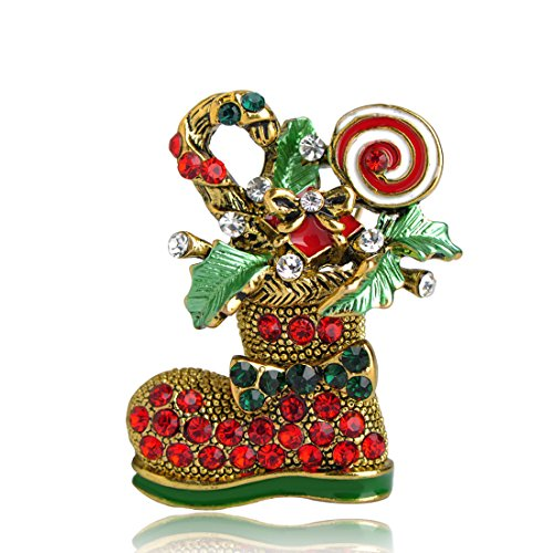 MECHOSEN Christmas Brooch Ladies Accessories