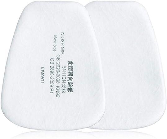 Rovive Filtro de algodón, 10/20/50 Piezas de Filtro de partículas de algodón, Protector reemplazable Antipolvo para mascarillas faciales y bucales: Amazon.es: Hogar