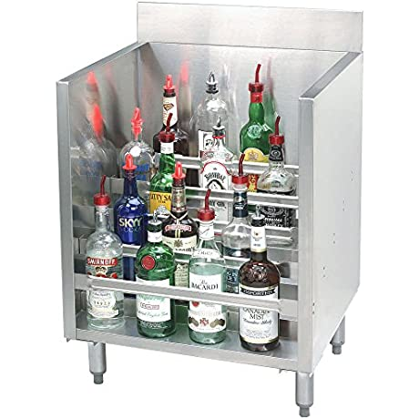 Advance Tabco CRLR 12 Stainless Steel Liquor Display Cabinet 12 X 21