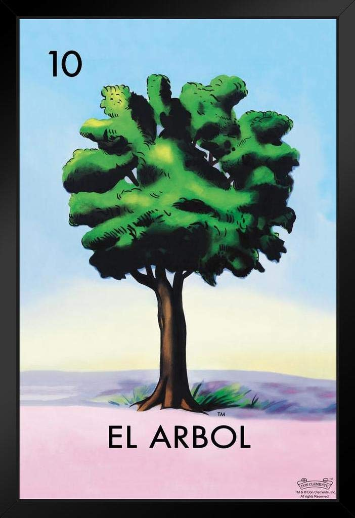 Amazon.com: 10 El Arbol Tree Loteria Card Mexican Bingo ...