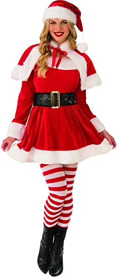 23e83608ee5 Rubie's Costume Co Women's Santa's Helper Costume
