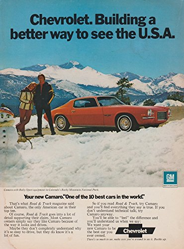1972 CHEVROLET CAMARO RALLY SPORT COUPE