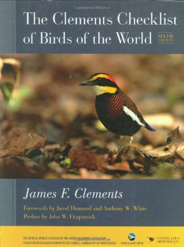 Read Online The Clements Checklist of Birds of the World pdf epub