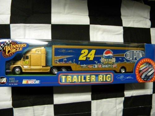 2003-jeff-gordon-24-pepsi-billion-dollars-dupont-hauler-trailer-tractor-semi-rig-truck-transporter-1