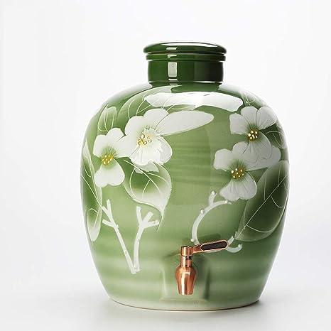 WMM-Barrels Barril de Vino de cerámica, Lata sellada, Barril ...