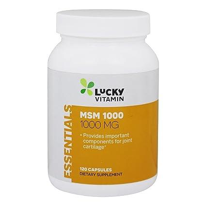 LuckyVitamin - Magnesio 1000 de MSM. - 120 cápsulas