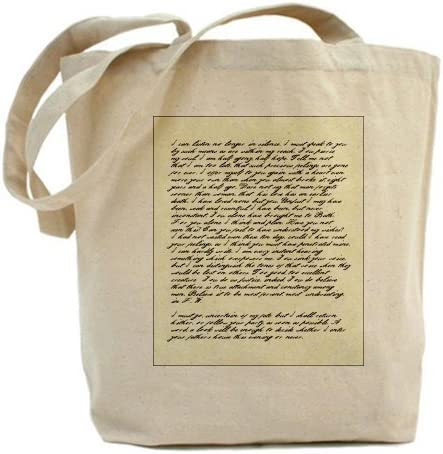 CafePress Jane Austen Persuasión Carta Bolso Tote Bolsa ...