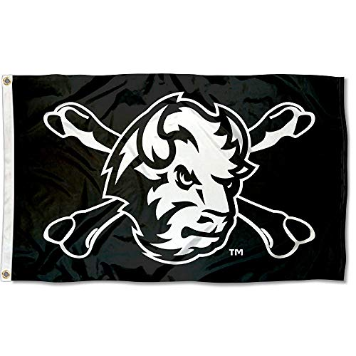 - College Flags and Banners Co. North Dakota State Bison Cross Bones Flag
