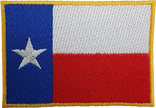TEXAS STATE FLAG LONE STAR TX REPUBLIC EMBROIDERED PATCH Bad