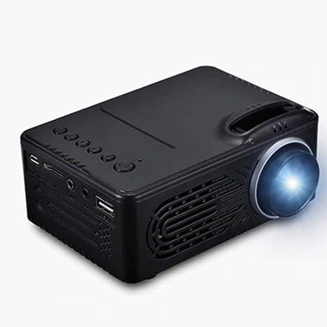 DyNamic Rigal Rd-814 LED Mini Proyector 30 Lúmenes 2,0 Pulgadas ...