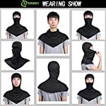 SUNMECI Balaclava – Windproof and Dust Sun Protection Full Face Mask Cycling Motorcycle Breathable Neck Cover in Summer for Men and Women
