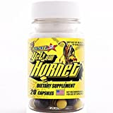 Yellow Hornet Herbal Dietary Supplement 20ct (Lot of 6 X) = 120 Capsules For Sale