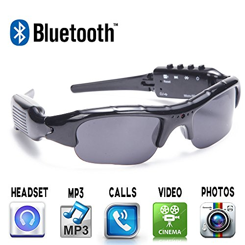 All4life Bluetooth Sunglasses recording Headphones product image