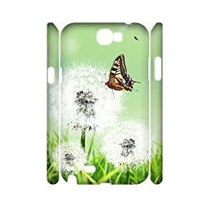 Dandelion Customized 3D Cover Case for Samsung Galaxy Note 2 N7100,custom phone case ygtg516102