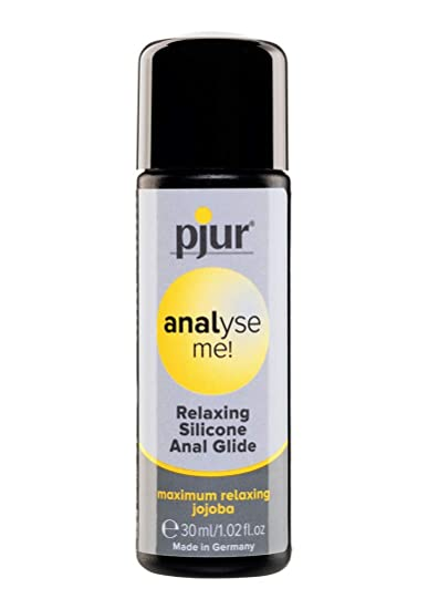 pjur analyse me! Relaxing Silicone Anal Glide - Lubricante ...