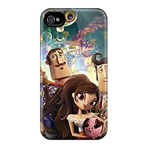 EricHowe Iphone 4/4s Great Hard Phone Case Allow Personal Design Trendy Cartoon Movie 2014 Pattern [SxL581WCva]