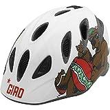 Giro Youth Rascal, Matte White CA Bear – S/M For Sale