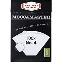 Technivorm Moccamaster 85022 4 White Paper Filters, one Size