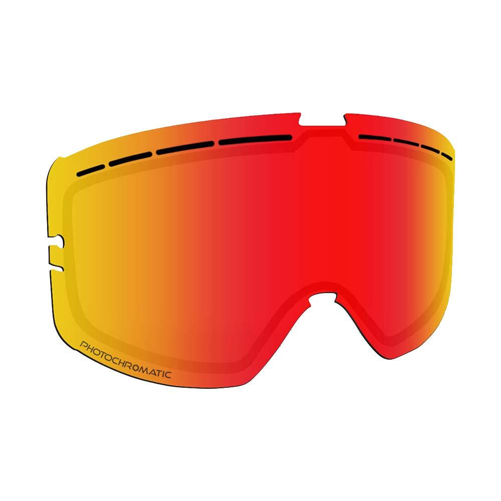 509 Kingpin Goggle Lenses Green Mirror//Yellow Tint