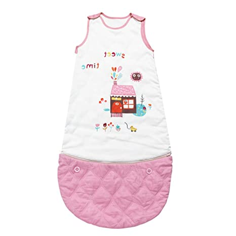 i-baby Saco Dormir Bebé sin Mangas para Recién Nacido Infantil Algodón Bolsa de Dormir