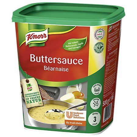 Knorr Butter Sauce Béarnaise 500g
