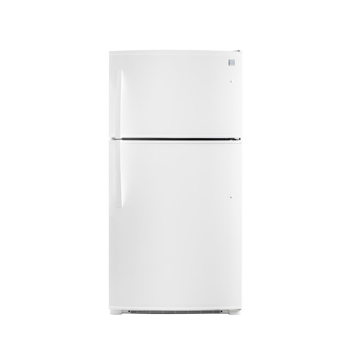Amazon.com: Kenmore 61212 20.8 cu.ft. Top-Freezer Refrigerator with LED  Lighting in White, includes delivery and hookup: Appliances