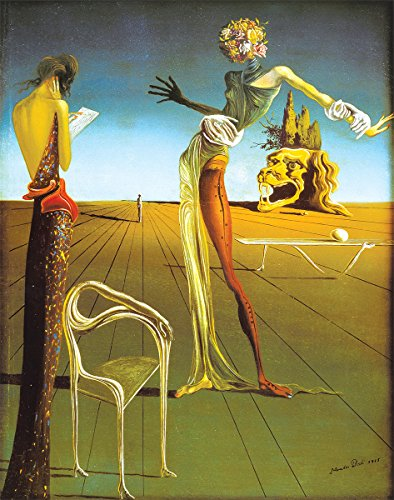 (HUNTINGTON GRAPHICS Woman with a Head of Roses, 1935 by Salvador Dali - Art Print/Poster 11x14 inches)